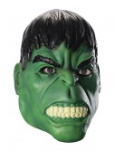 Adult Hulk 3/4 Mask, halloween costume (Adult Hulk 3/4 Mask)