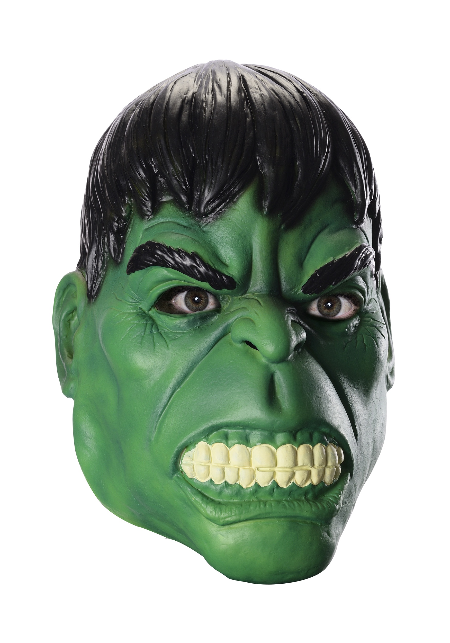 Adult Hulk 3/4 Mask  sc 1 st  Halloween Costumes : incredible hulk costume for adults  - Germanpascual.Com