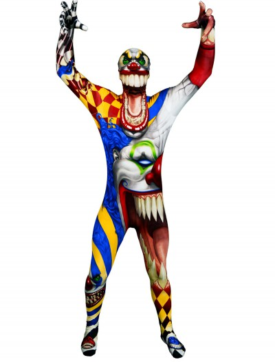 Adult The Clown Morphsuit, halloween costume (Adult The Clown Morphsuit)