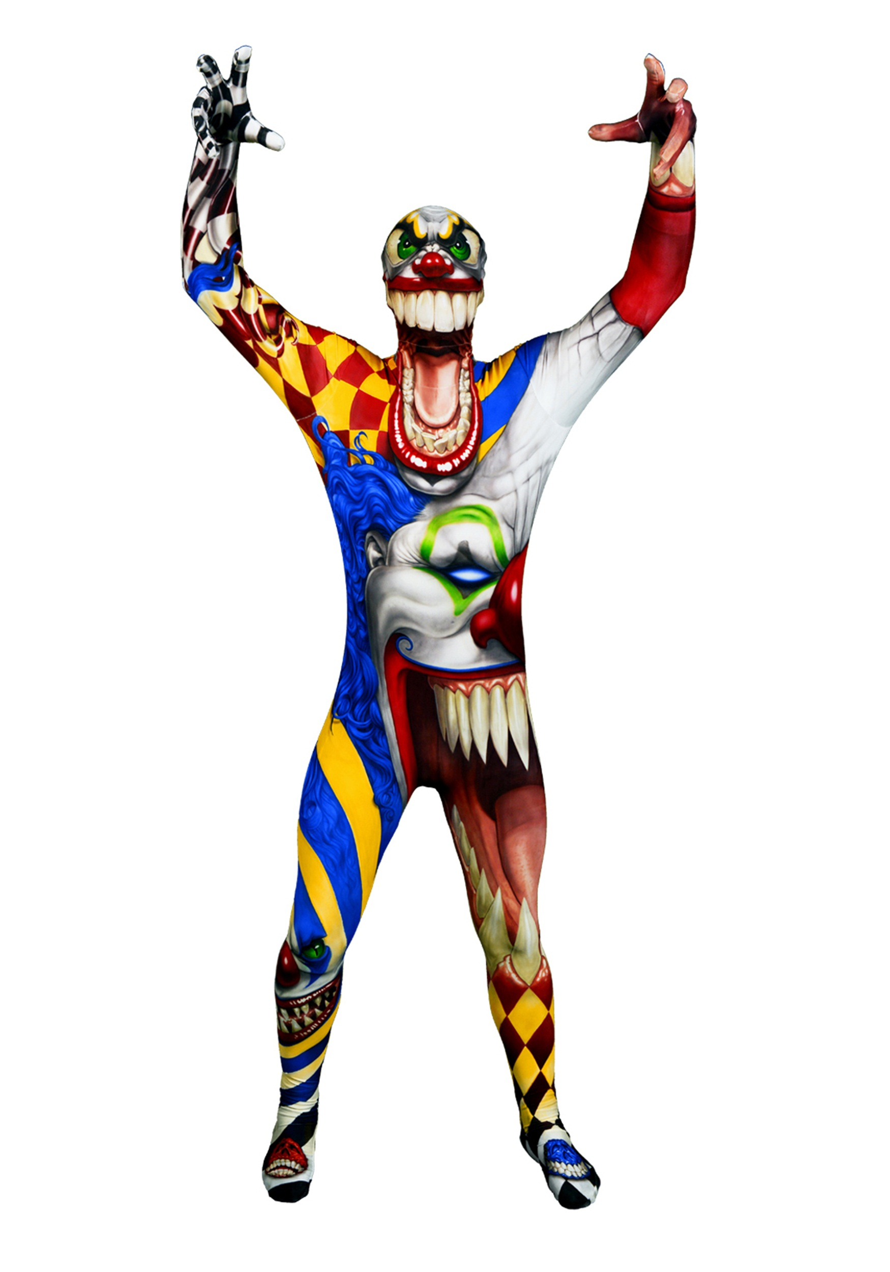 Adult The Clown Morphsuit Halloween Costumes