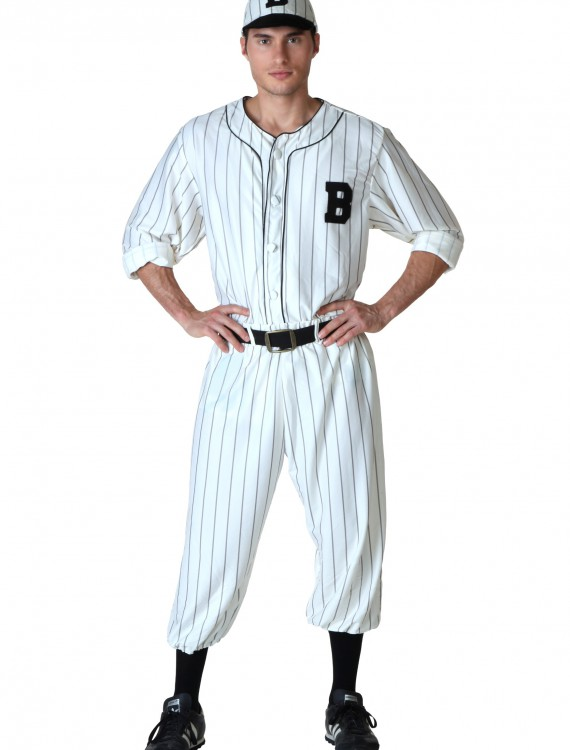 Adult Vintage Baseball Costume, halloween costume (Adult Vintage Baseball Costume)