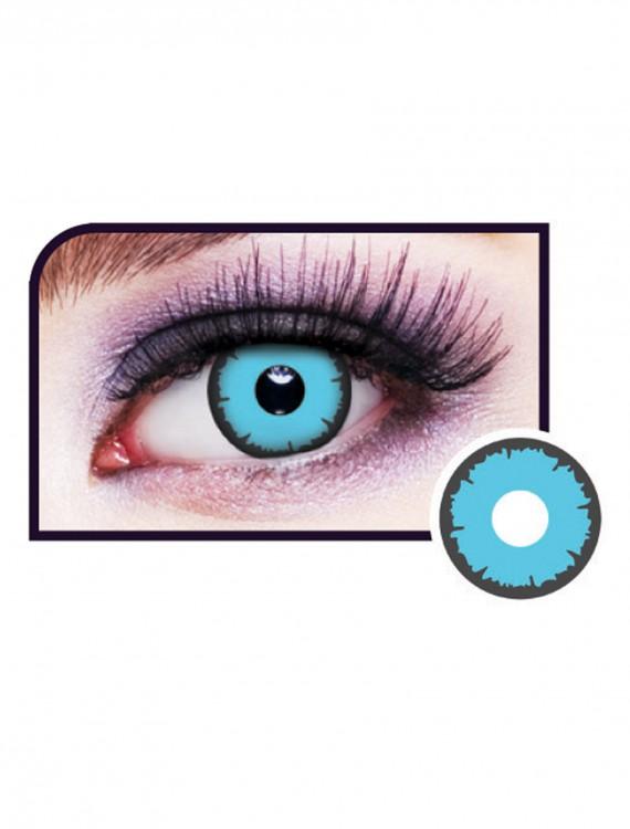 Angelic Blue Eye Contact Lenses, halloween costume (Angelic Blue Eye Contact Lenses)