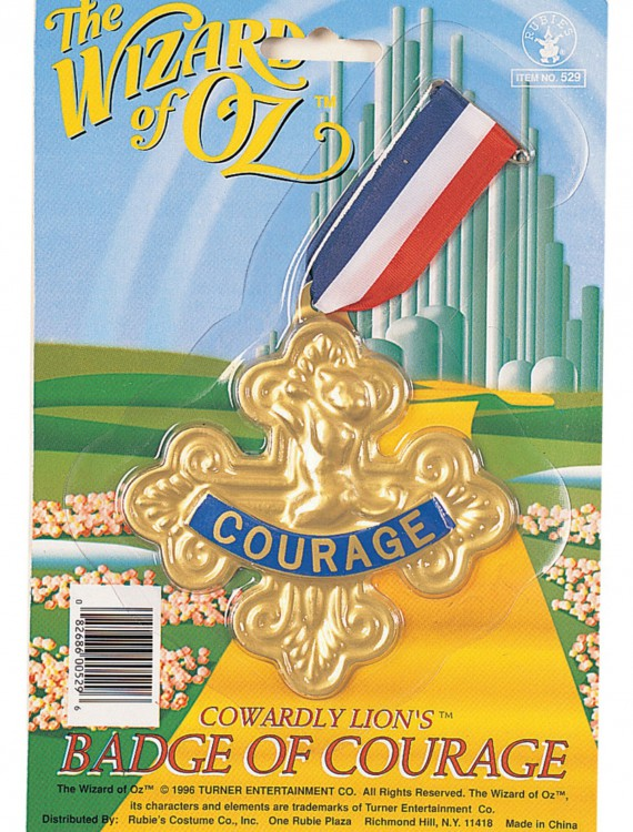 Badge Of Courage Pin, halloween costume (Badge Of Courage Pin)