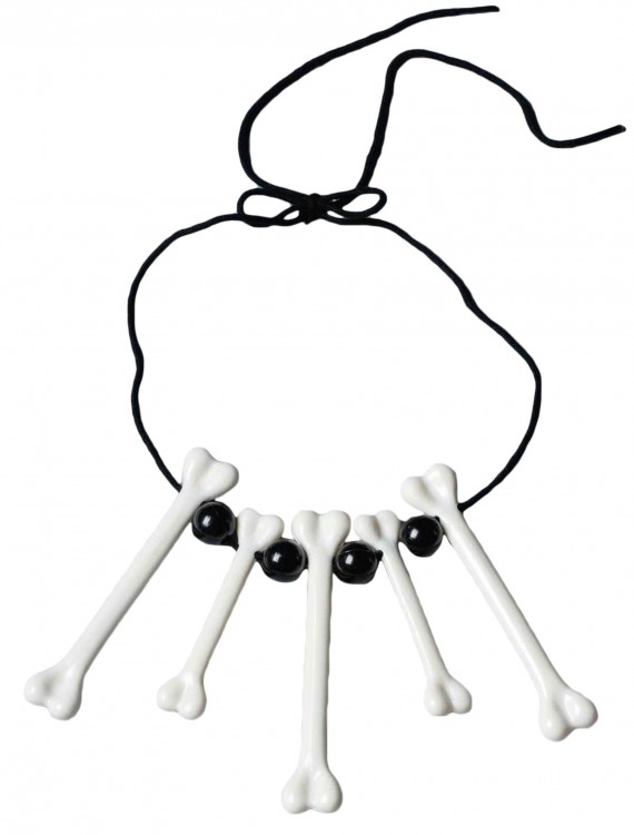 Bone Necklace, halloween costume (Bone Necklace)