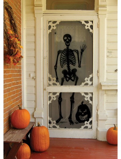 Bones Backdrop Decoration, halloween costume (Bones Backdrop Decoration)
