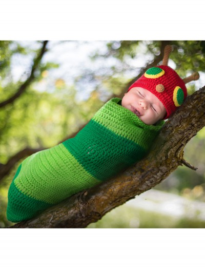Casey the Caterpillar Newborn Bunting, halloween costume (Casey the Caterpillar Newborn Bunting)