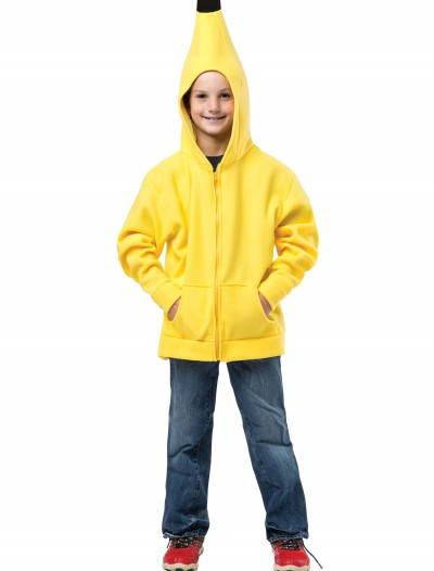 Child Banana Hooded Sweatshirt, halloween costume (Child Banana Hooded Sweatshirt)