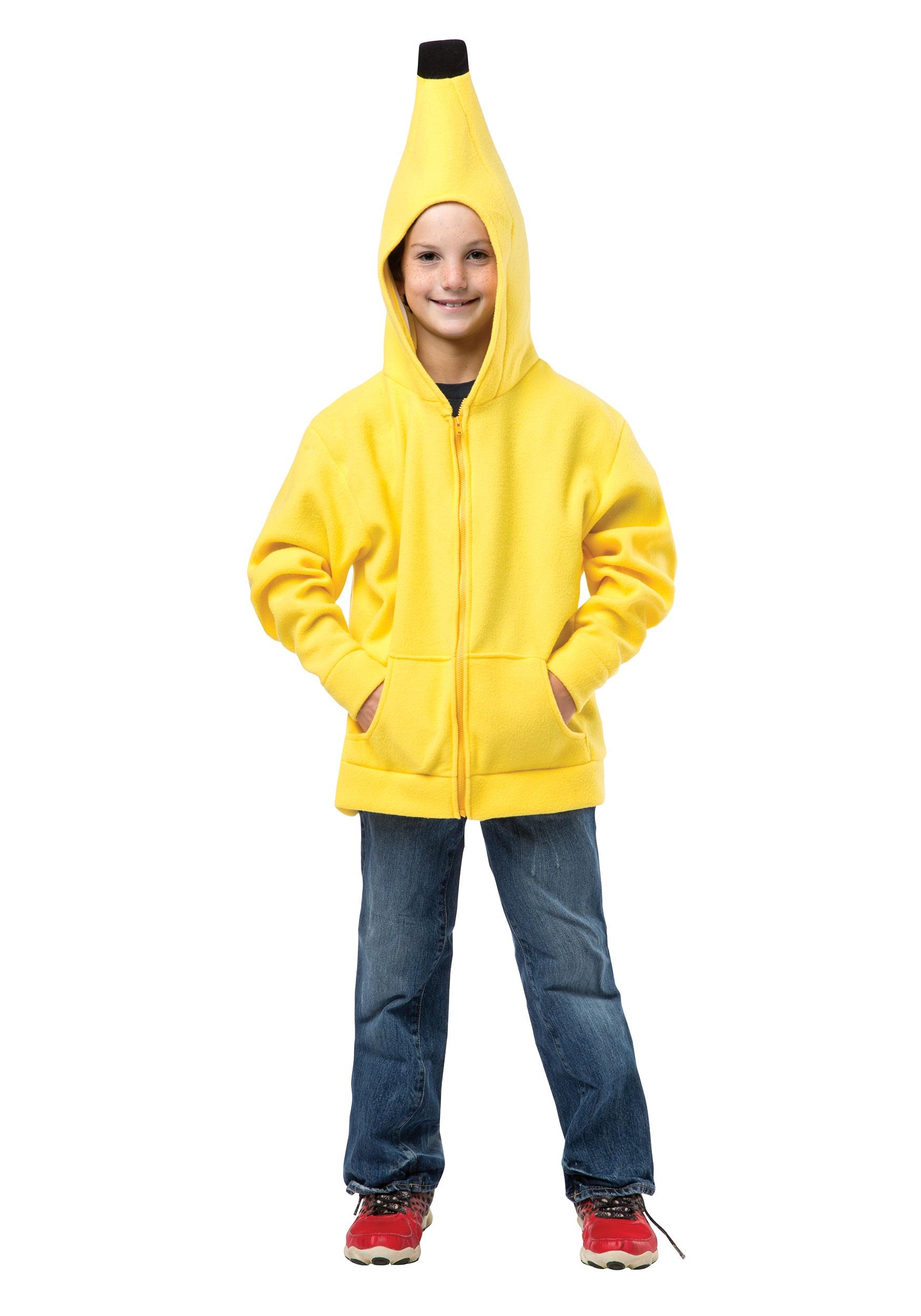 Child Banana Hooded Sweatshirt  sc 1 st  Halloween Costumes & Child Banana Hooded Sweatshirt - Halloween Costumes