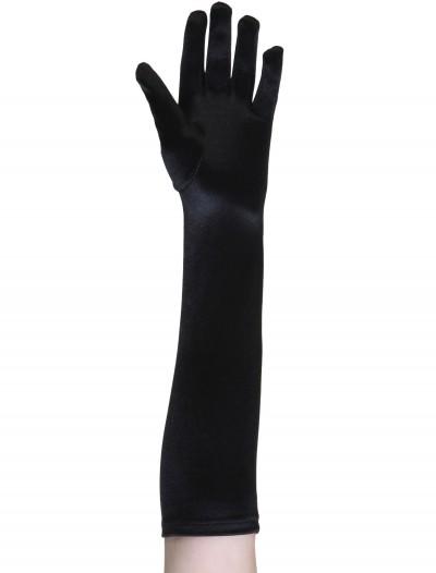 Child Black Gloves, halloween costume (Child Black Gloves)