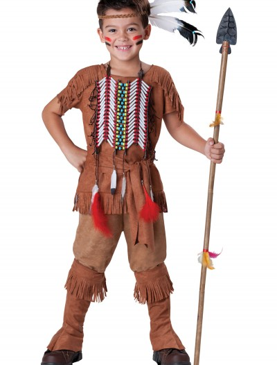 Child Indian Brave Costume, halloween costume (Child Indian Brave Costume)