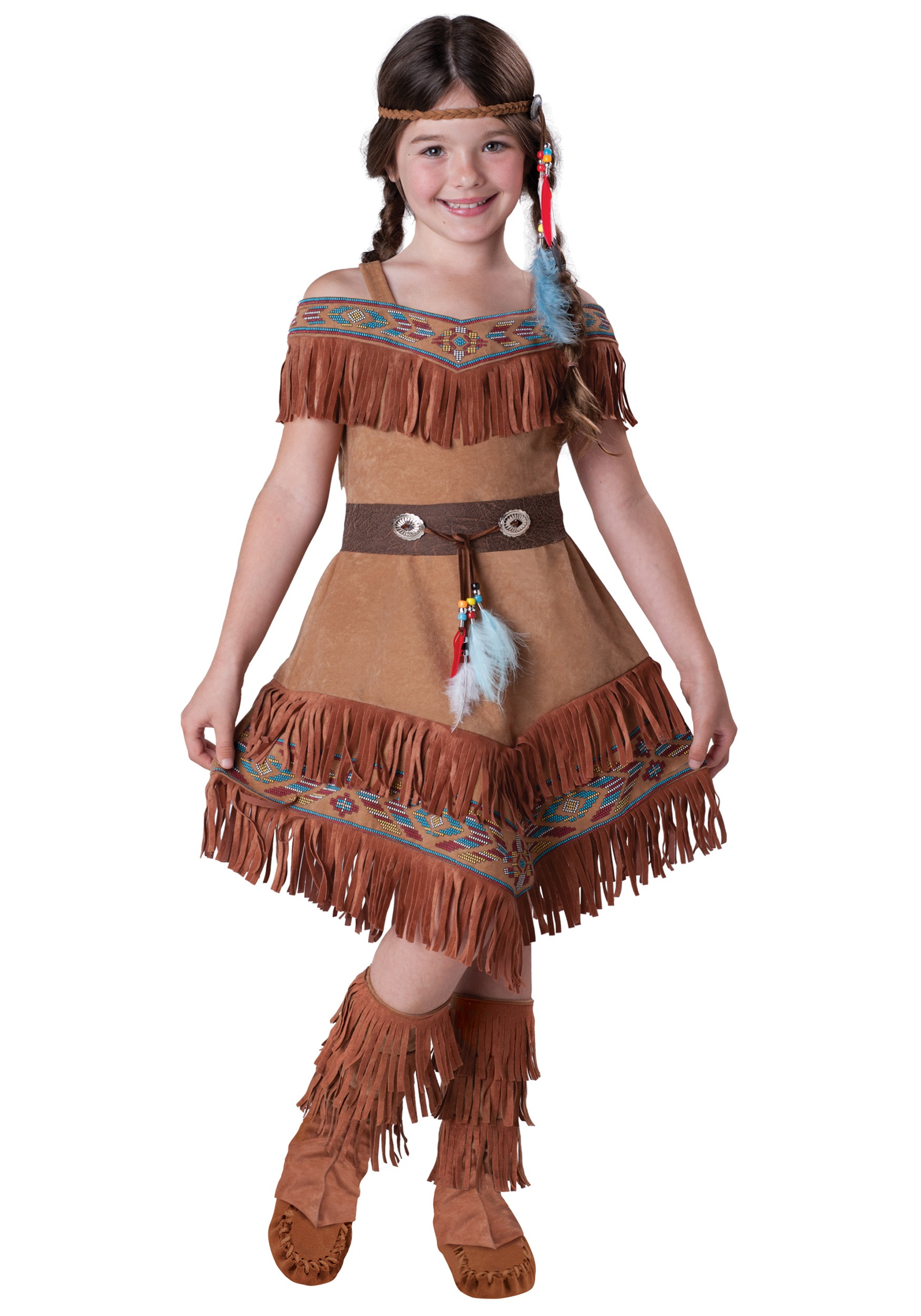 child indian maiden costume - halloween costumes