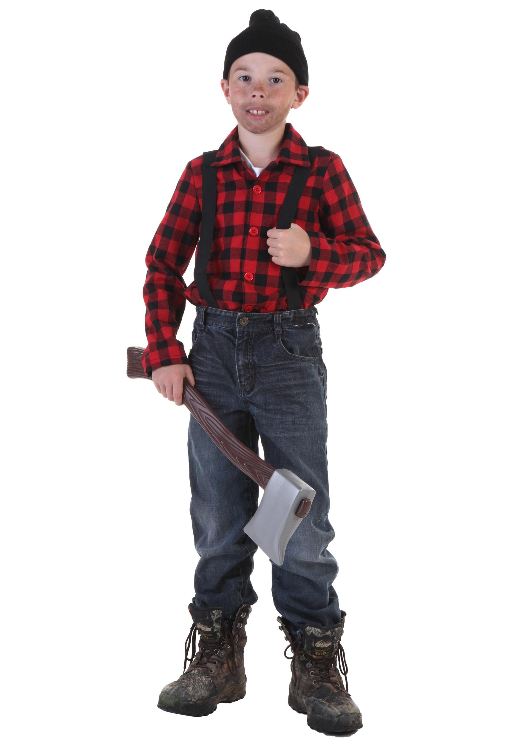 Костюм железного дровосека для ребенка