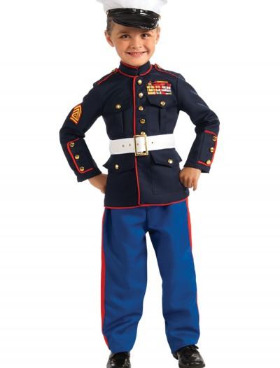 Child Marine Uniform Costume, halloween costume (Child Marine Uniform Costume)