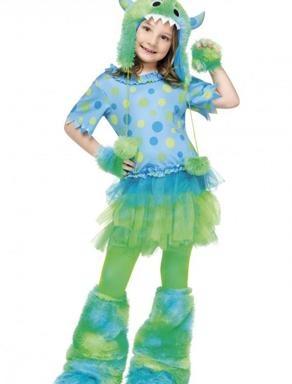 Child Monster Miss Costume, halloween costume (Child Monster Miss Costume)