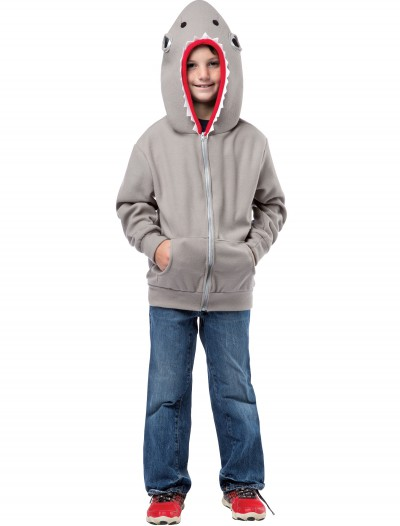 Child Shark Hooded Sweatshirt, halloween costume (Child Shark Hooded Sweatshirt)