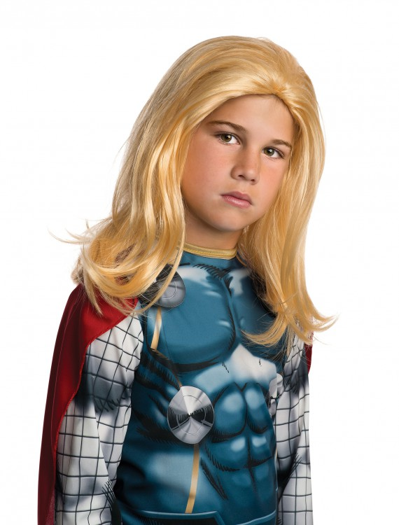 Child Thor Wig, halloween costume (Child Thor Wig)