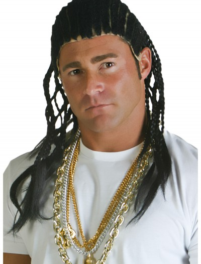 Corn Row Wig, halloween costume (Corn Row Wig)