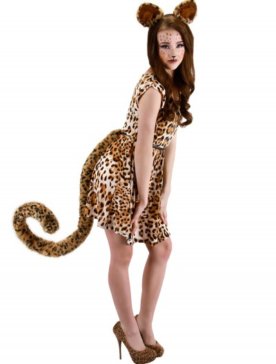 Deluxe Oversized Leopard Tail, halloween costume (Deluxe Oversized Leopard Tail)