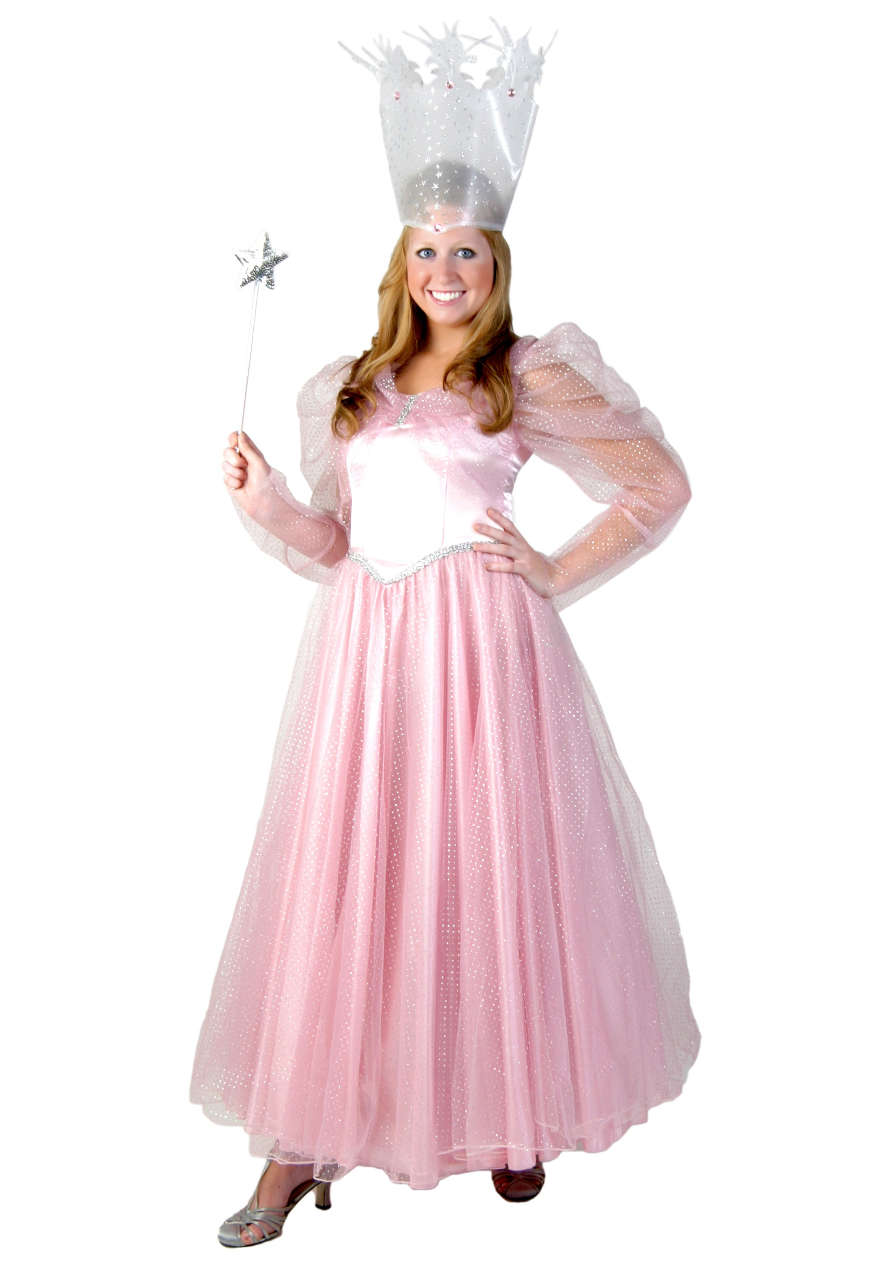 Deluxe Plus Size Pink Witch Costume - Halloween Costumes
