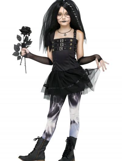 Frankie's Bride Child Costume, halloween costume (Frankie's Bride Child Costume)