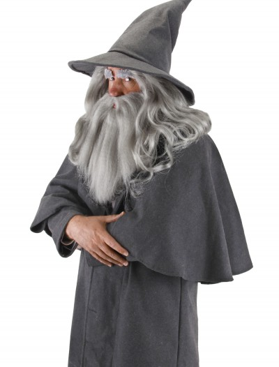 Gandalf Wig and Beard Set, halloween costume (Gandalf Wig and Beard Set)