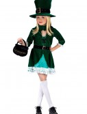 Girls Lucky Leprechaun Costume, halloween costume (Girls Lucky Leprechaun Costume)