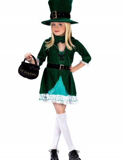 Girls Lucky Leprechaun Costume, halloween costume (Girls Lucky Leprechaun Costume)