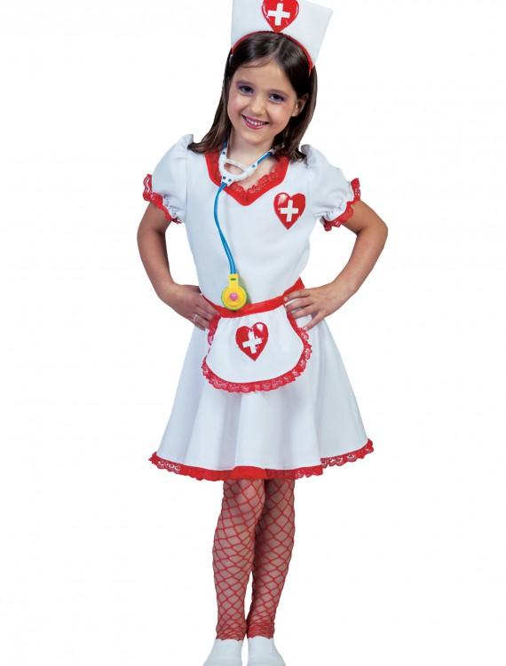Girls Nurse Nancy Costume, halloween costume (Girls Nurse Nancy Costume)
