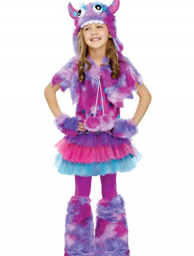 Girls Polka Dot Monster Costume, halloween costume (Girls Polka Dot Monster Costume)