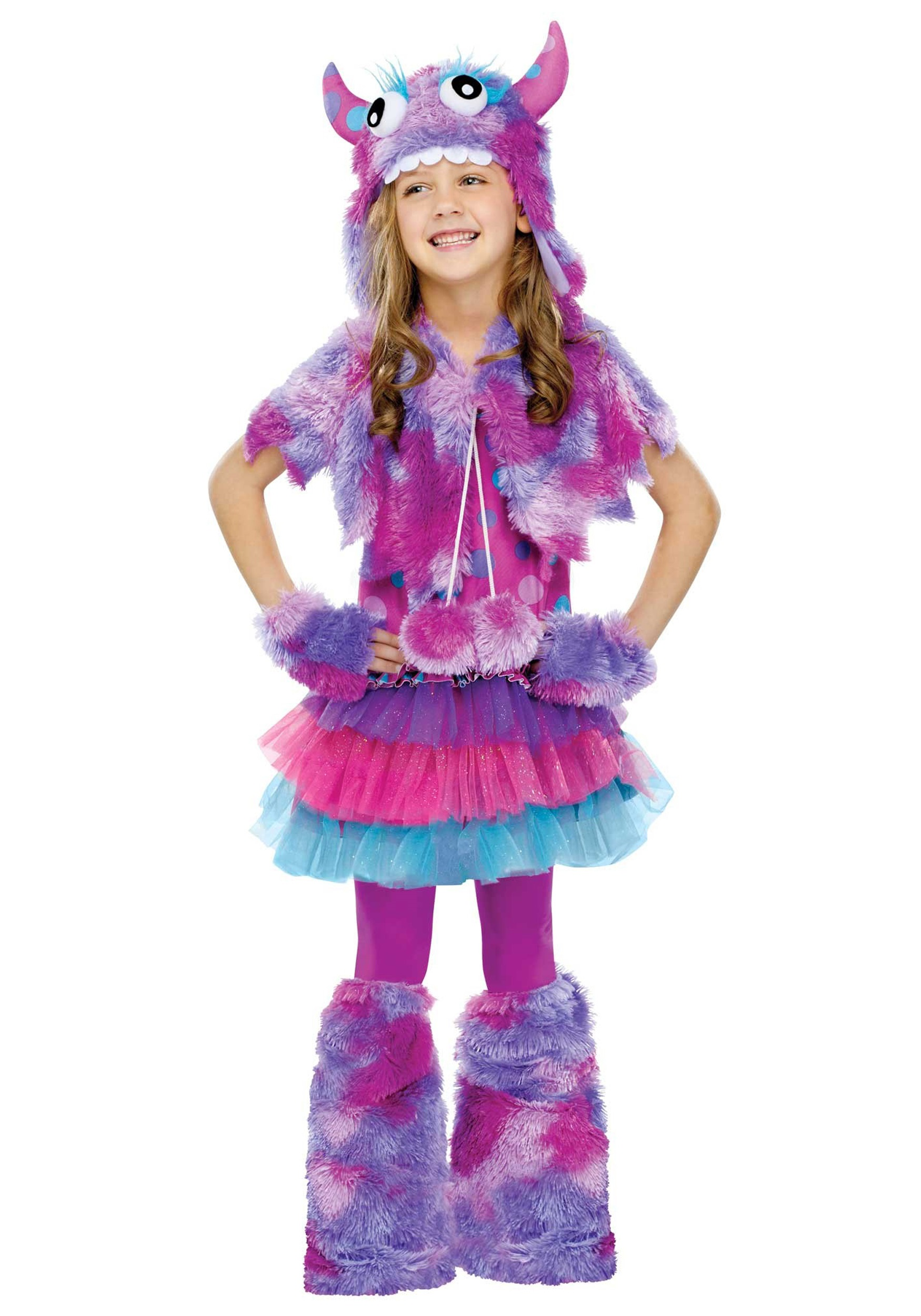 girls polka dot monster costume - Halloween Costume Monster