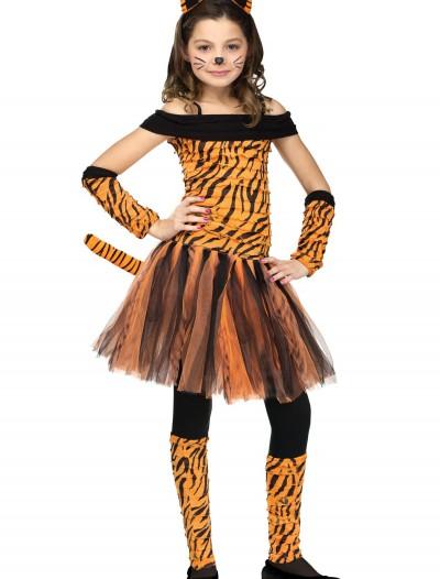 Girls Tigress Costume, halloween costume (Girls Tigress Costume)