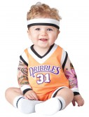 Infant Double Dribble Basketball Costume, halloween costume (Infant Double Dribble Basketball Costume)