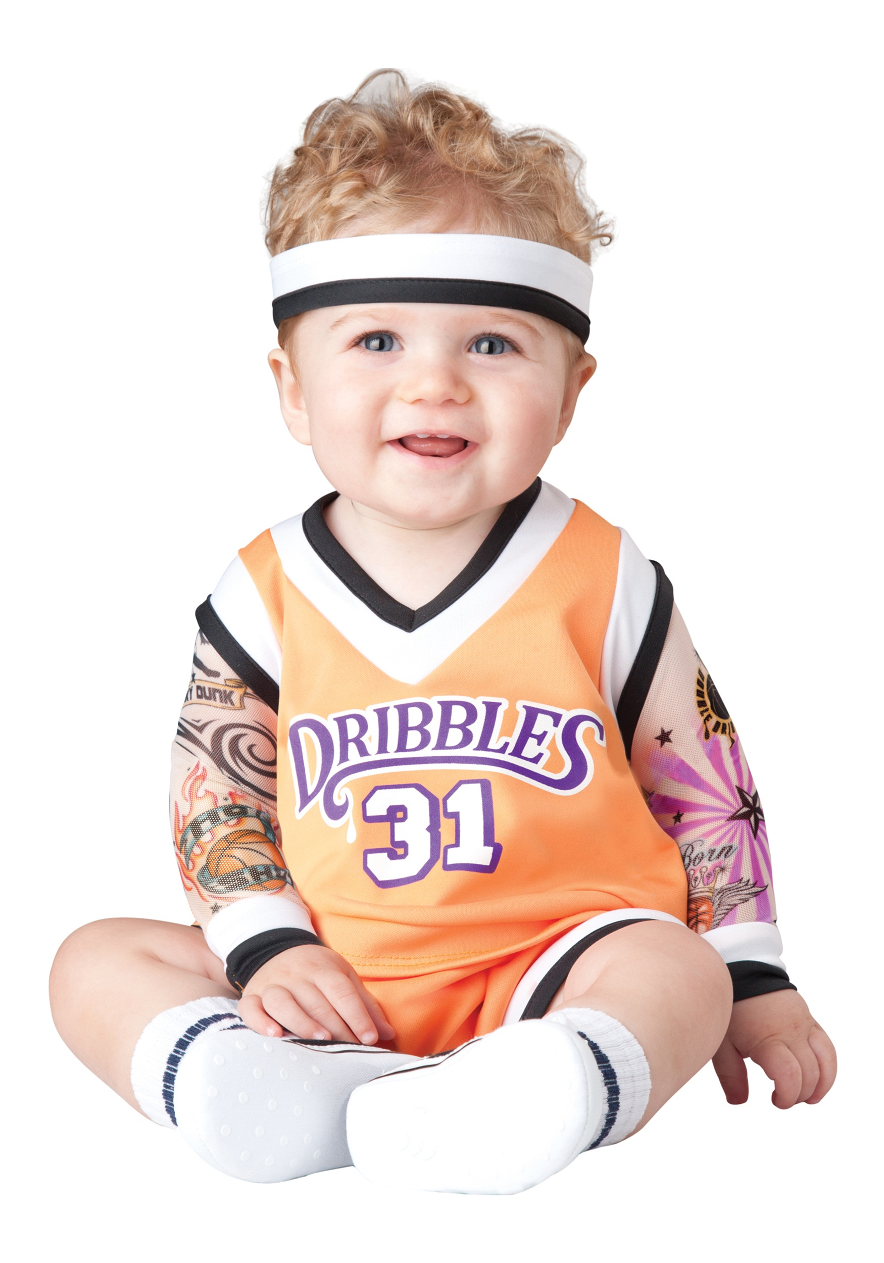 Infant Double Dribble Basketball Costume  sc 1 st  Halloween Costumes & Infant Double Dribble Basketball Costume - Halloween Costumes