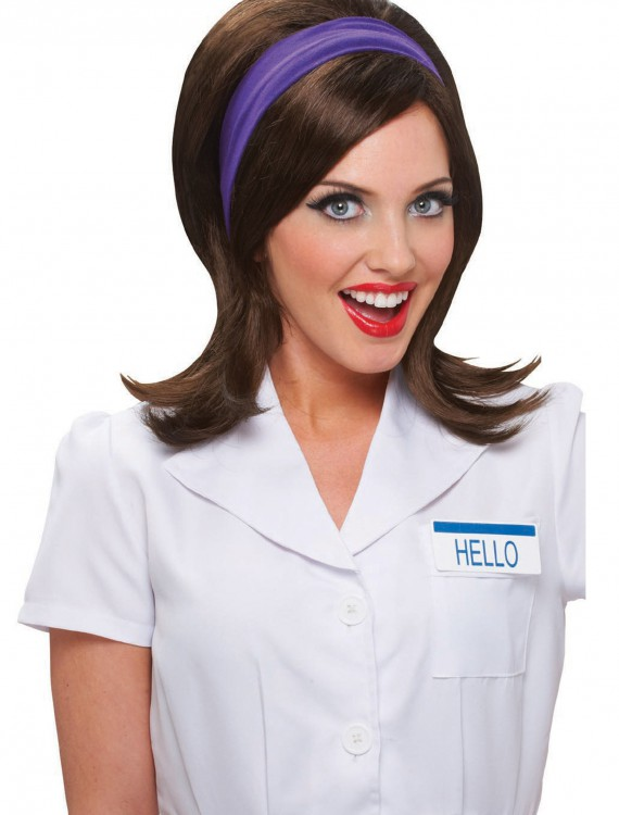 Insurance Girl Wig, halloween costume (Insurance Girl Wig)