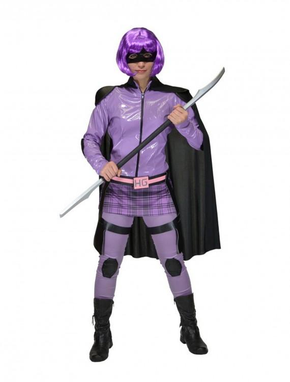 Kick Ass Hit Girl Adult Costume, halloween costume (Kick Ass Hit Girl Adult Costume)