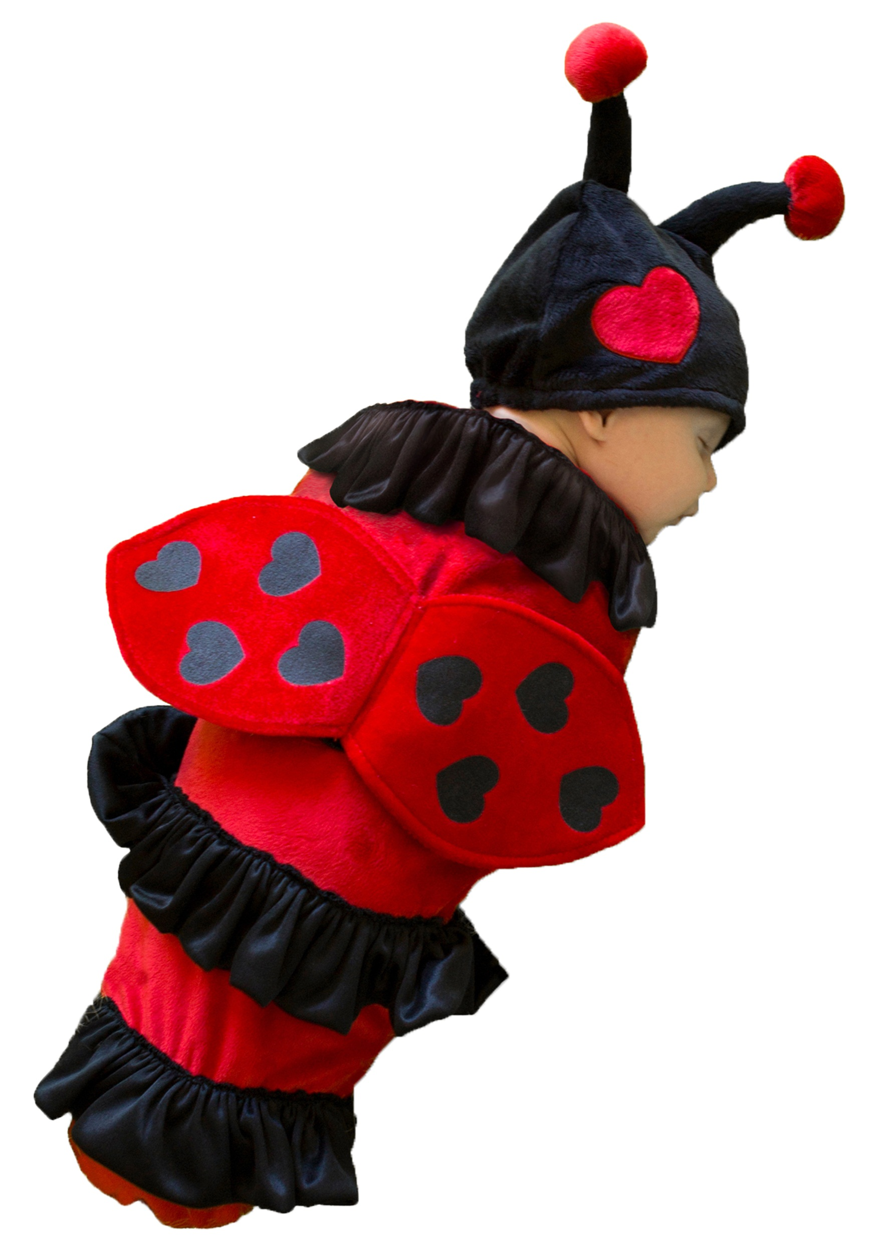 lexi the ladybug newborn bunting - halloween costumes