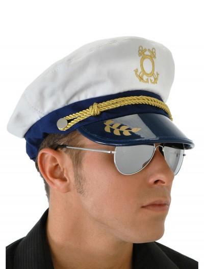 Mens Sailor Captain Hat, halloween costume (Mens Sailor Captain Hat)