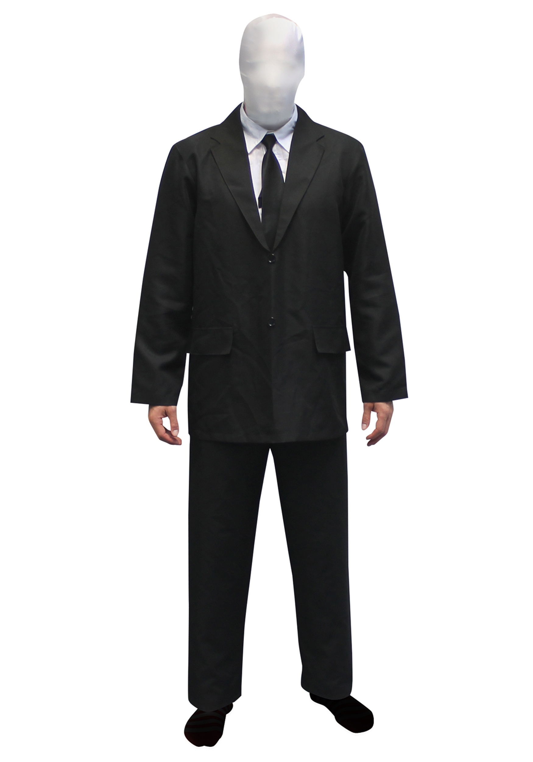 mens slenderman costume morphsuit - Morphsuits Halloween Costumes