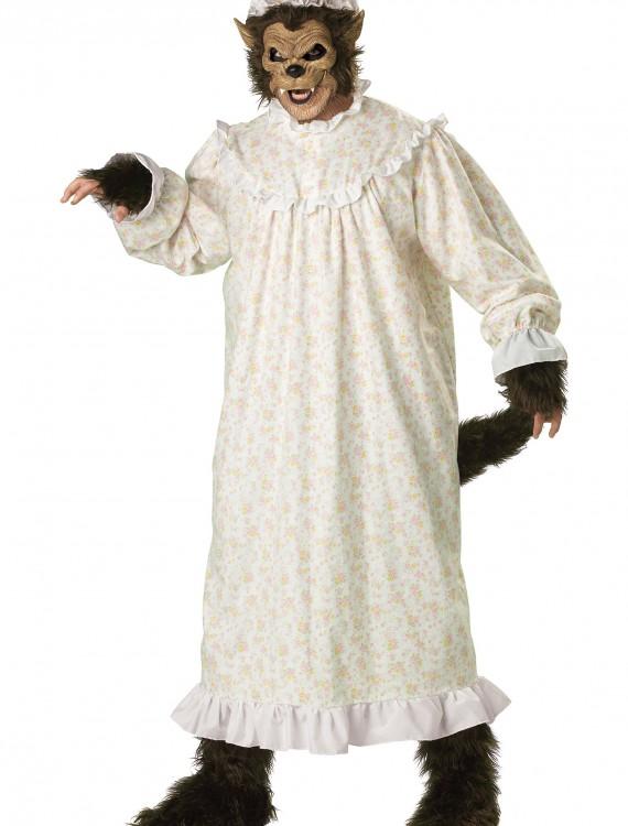 Plus Size Big Bad Wolf Costume, halloween costume (Plus Size Big Bad Wolf Costume)