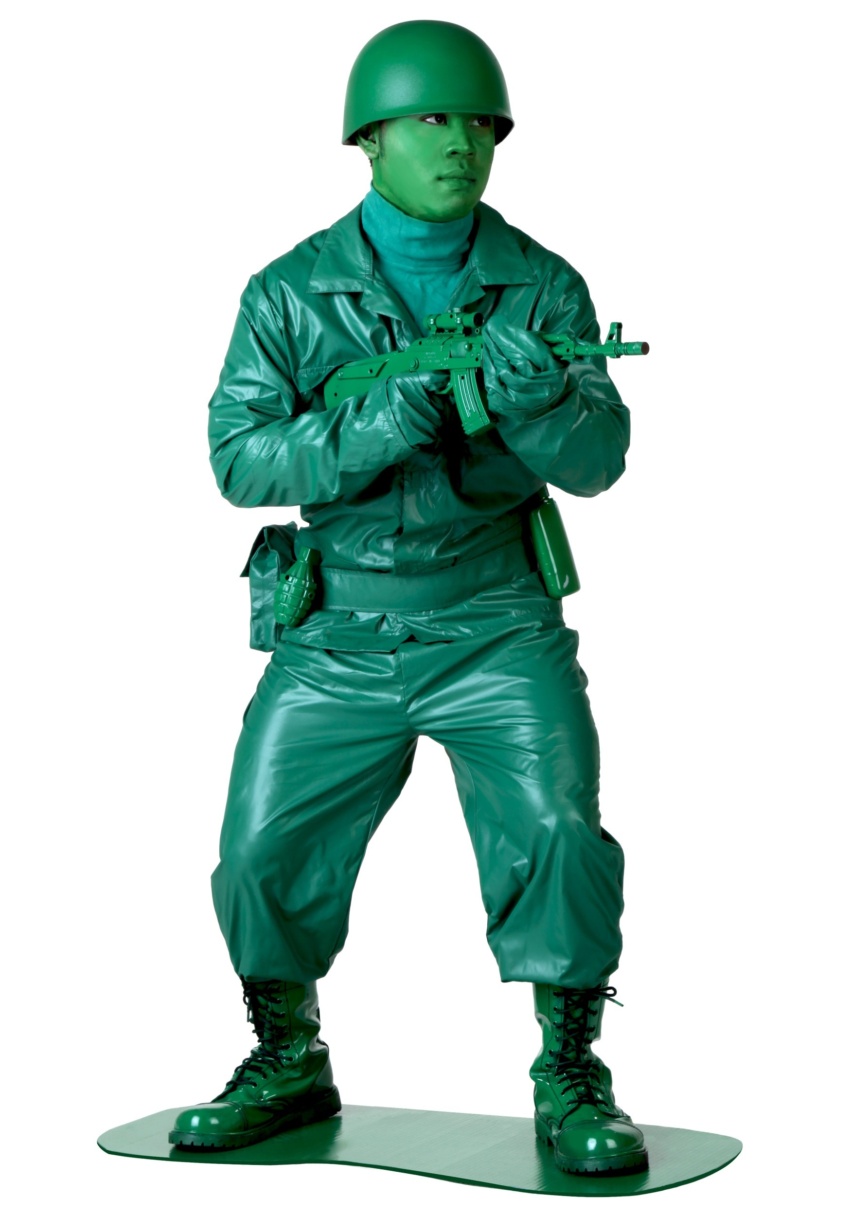 Plus Size Green Army Man Costume  sc 1 st  Halloween Costumes & Plus Size Green Army Man Costume - Halloween Costumes