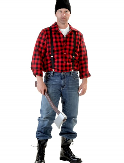 Plus Size Lumberjack Costume, halloween costume (Plus Size Lumberjack Costume)