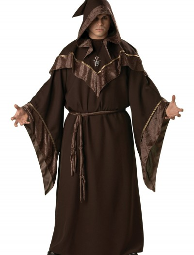 Plus Size Mystic Sorcerer Costume, halloween costume (Plus Size Mystic Sorcerer Costume)
