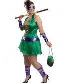 Plus Size Sexy TMNT Donatello Costume, halloween costume (Plus Size Sexy TMNT Donatello Costume)