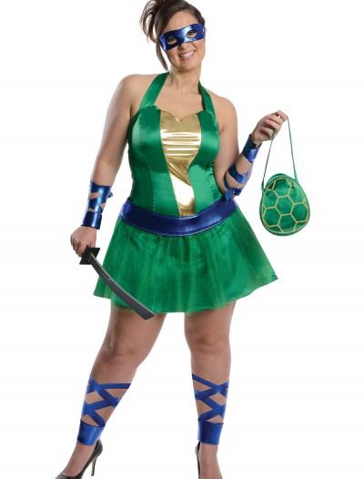 Plus Size Sexy TMNT Leonardo Costume, halloween costume (Plus Size Sexy TMNT Leonardo Costume)