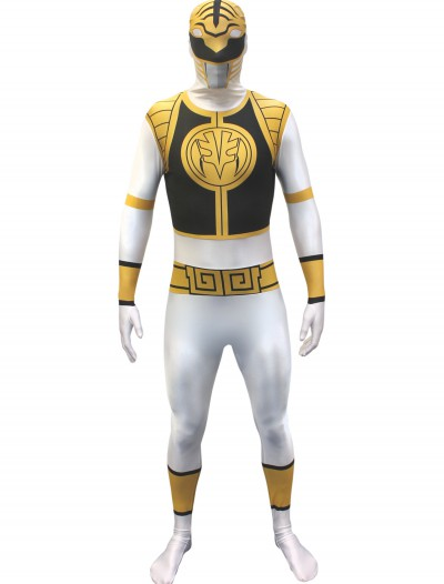 Power Rangers: White Ranger Morphsuit, halloween costume (Power Rangers: White Ranger Morphsuit)
