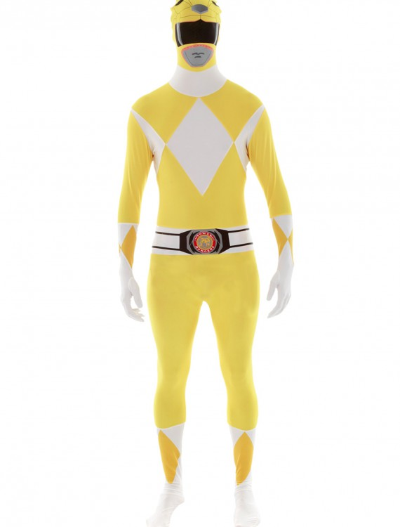 Power Rangers: Yellow Ranger Morphsuit, halloween costume (Power Rangers: Yellow Ranger Morphsuit)