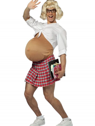 Pregnant School Girl Costume, halloween costume (Pregnant School Girl Costume)