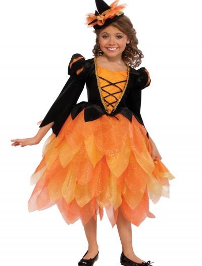 Pumpkin Witch Girl Costume, halloween costume (Pumpkin Witch Girl Costume)