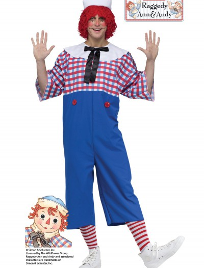 Raggedy Andy Adult Costume, halloween costume (Raggedy Andy Adult Costume)