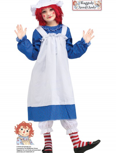 Raggedy Ann Classic Child Costume, halloween costume (Raggedy Ann Classic Child Costume)